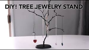 DIY Easy Tree Jewelry Stands In Under 20 Minutes For 10