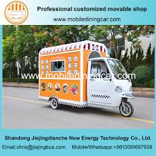 China Electro-Tricycle Fast Food Mobile Truck Hot Sale - China ...