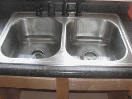 Drano Kitchen Sink Standing Water by Fix Clogged Sink Black And Gold Granite Tile Backer Board Copper