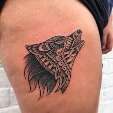 Amazing Wolf Tattoo Idea