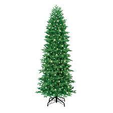 Ge Slim Artificial Christmas Trees by Shop Ge 7 U0027 Just Cut Pencil Aspen Fir Artificial Christmas Tree