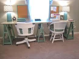 ana white 1x3 sawhorse desk diy projects