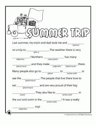 Halloween Mad Libs Free by Teaching With Tlc Summer Mad Libs