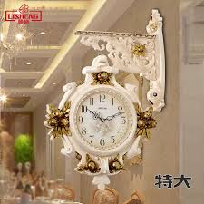 usd 164 20 european luxury clock sided wall clock living