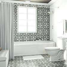 black tile bathroom black and white brick tiles in the like my