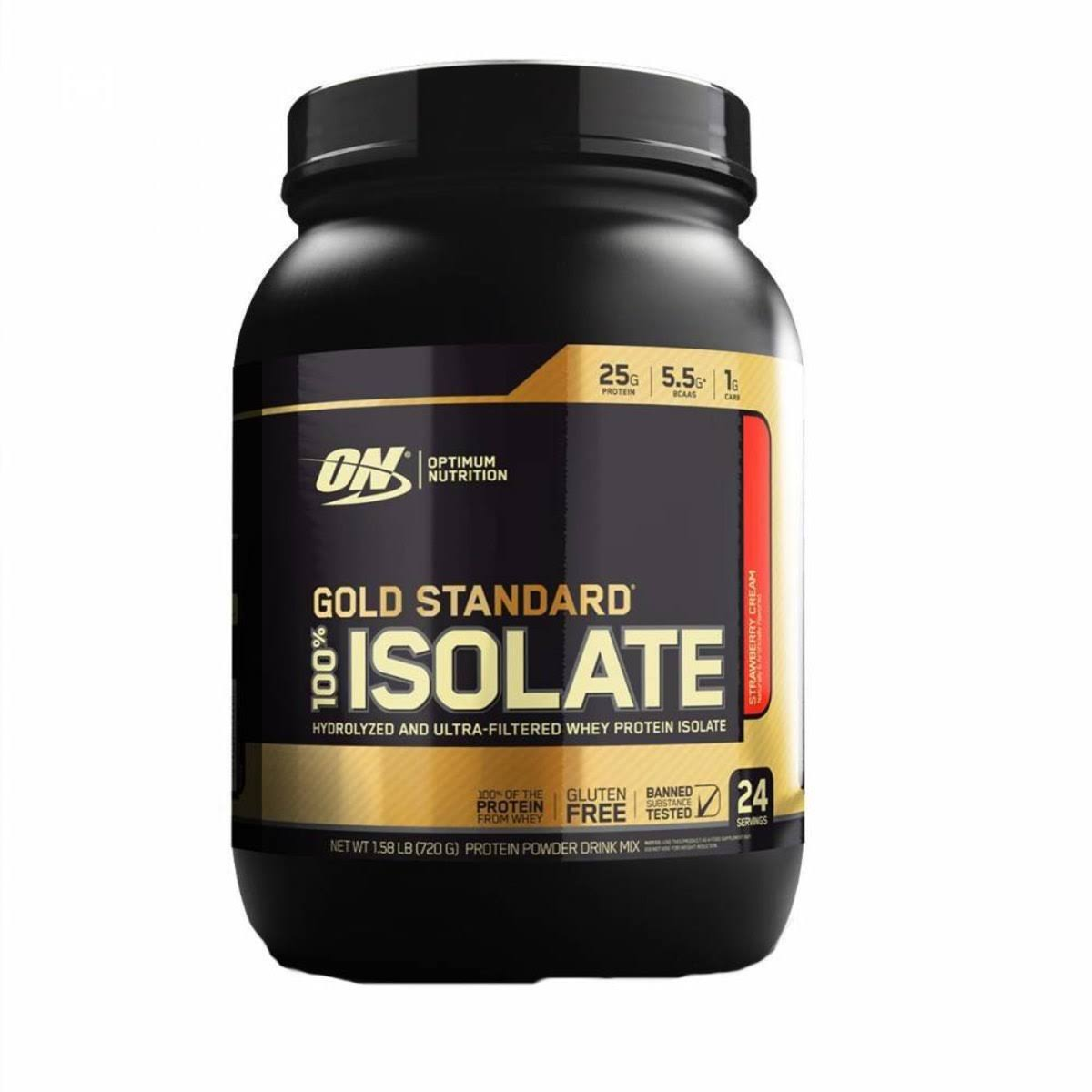 Optimum Nutrition Gold Standard Protein Powder Drink Mix, Chocolate Bliss, 100% Isolate - 1.64 lb