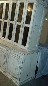 Farmhouse Hutch In Annie Sloan Old White