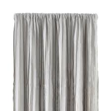 kendal 50 x108 grey striped curtain panel grey striped curtains