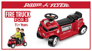Walmart.com: Radio Flyer Fire Truck Ride-On AND Fireman Hat ONLY $62 ... Vintage Style Ride On Fire Truck Nture Baby Fireman Sam M09281 6 V Battery Operated Jupiter Engine Amazon Power Wheels Paw Patrol Kids Toy Car Ideal Gift Unboxing And Review Youtube Best Popular Avigo Ram 3500 Electric 12v Firetruck W Remote Control 2 Speeds Led Lights Red Dodge Amazoncom Kid Motorz 6v Toys Games Toyrific 6v Powered On Little Tikes Cozy Rideon Zulily