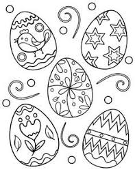 Printable Easter Egg Coloring Page Free PDF Download At Coloringcafe