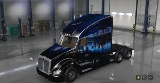 100 Truck San Francisco KENWORTH T680 SAN FRANCISCO BRIDGE SKIN MOD ATS Mod American