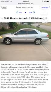 Best 2001 Honda Accord For Sale In Karns, Tennessee For 2017 Toyota Dealership Clinton Tn Used Cars Fox West Chevrolet New Chevy In Alcoa Vwvortexcom Craigslist Find Thread Elegant Trucks Nh 7th And Pattison El Paso Texas And Ford Dodge Fort Smith Arkansas Popular For Sale By Nissan Knoxville Fenton Of Best 2001 Honda Accord For Sale Karns Tennessee 2017 Preowned Car Truck Suvs Dealer Cash Clarksville Sell Your Junk The Clunker Owner How To Search Inspirational Diesel