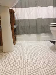 hexagon tile shower floor kitchen flooring inch black bathroom