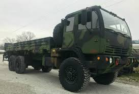 Stewart & Stevenson M1086 6x6 5 Ton Cargo Truck With Material ...