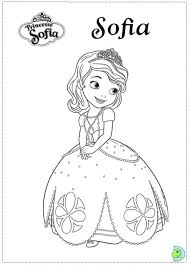 Sofia The First Coloring Pages Getcoloringpages Pertaining To Printable Regarding Invigorate
