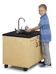 Ozark River Portable Hand Sink by Jonti Craft Clean Hands Helper 26