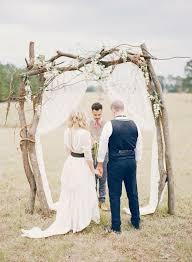 Rustic Outdoor Wedding Arch