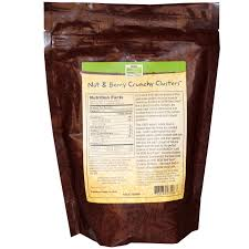 Kashi Pumpkin Spice Flax Discontinued by Now Foods Real Food Crunchy Clusters Nut U0026 Berry 9 Oz 255 G