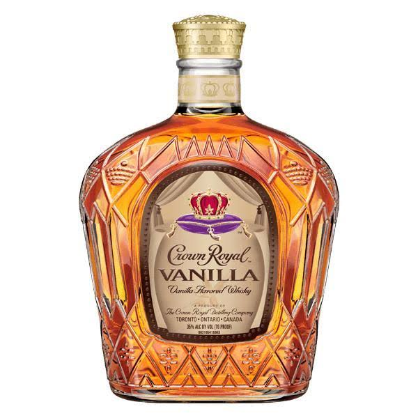 Crown Royal Whisky, Vanilla - 750 ml