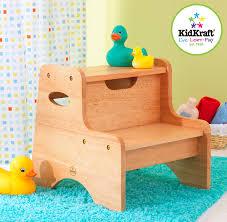 Aqueduck Faucet Extender Canada by Amazon Com Kidkraft Two Step Stool Natural Toys U0026 Games