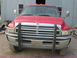 Used Deweze Bale Beds For Sale by 2000 Dodge Ram 3500 Flatbed Pickup Truck Item I1963 Sold