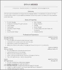 Resume Objective Examples For Massage Therapist New Therapy Rh Jonahfeingold Com