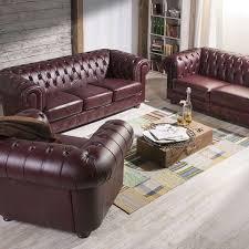 sofa 3 sitzer sofa 2 sitzer sessel bridgeport wischleder