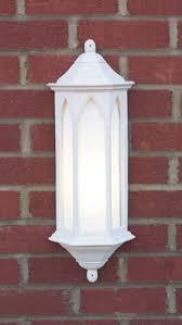 dar david hunt winchester white outside wall light