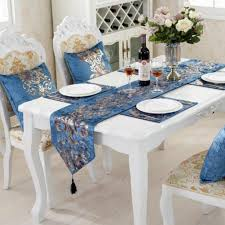 Home European Style Cloth Classic Modern Hot Stamping Floral Luxury Table  Runner Chair Upholstered Floral Design Ding Room Pattern White Green Blue Amazoncom Knit Spandex Stretch 30 Best Decorating Ideas Pictures Of Fall Table Decor In Shades For A Traditional Dihou Prting Covers Elastic Cover For Wedding Office Banquet Housse De Chaise Peacewish European Style Kitchen Cushions 8pcs Print Set Four Seasons Universal Washable Dustproof Seat Protector Slipcover Home Party Hotel 40 Designer Rooms Hlw Arbonni Fabric Modern Parson Chairs Wooden Ding Table And Chairs Room With Blue Floral 15 Awesome To Enjoy Your Meal