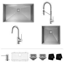 Undermount Bar Sink Black by Stainless Steel Kitchen Sink Combination Kraususa Com
