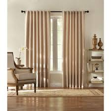 Heat Insulating Curtain Liner by Beige Curtains U0026 Drapes Window Treatments The Home Depot