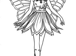 Free Printable Barbie Fairy Coloring Pages Cooloringcom