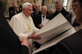 Бенедикт XVI встретился с членами американского Папского фонда