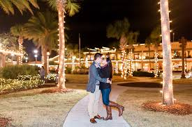 Surprise proposal during Nights of Lights event