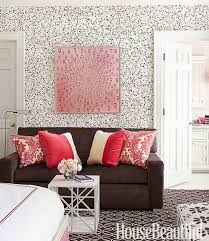Sofa Pink by House Revivals 17 Pretty Ways To Decorate With A Brown Sofa