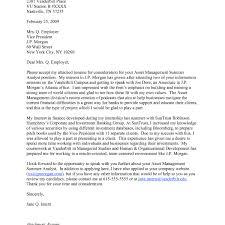 Jp Morgan Cover Letter Cover Letter