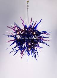 Free Shipping Elegant Lamp Cheap Crystal Blown Glass Ball Chandelier On Sale China