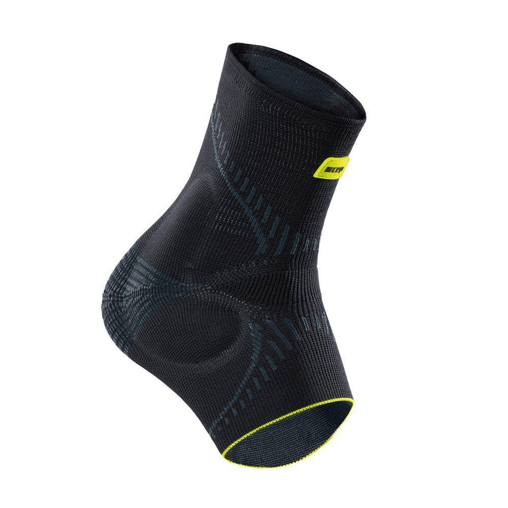 CEP Ortho+ Compression Ankle Brace - Black/Green, Size 5