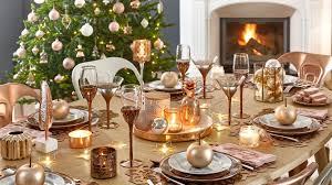 deco noel de table decoration de table noel cuivre décoration de noël déco écolo