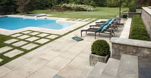 creating the pool patio area unilock