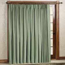 Traverse Rod Curtains Walmart by Pinch Pleat Curtains For Sliding Glass Doors