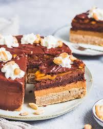 snickers torte vegan proteinreich