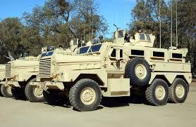 100 Armor Truck Cougar 6x6 MineResistant Ambush Protected Vehicle USA Army