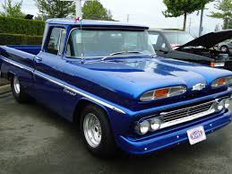 1960 Chevy Trucks - Save Our Oceans