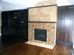 tile fireplace wall ideas writteninconcrete