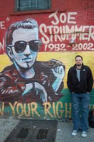 Joe Strummer Mural London Address by Joe Strummer U0026 The Mescaleros Metro Chicago Wxrt