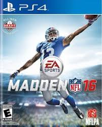 Madden NFL 16 PS4 Be The Playmaker In With All New