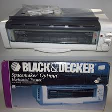 Black And Decker Under Cabinet Can Opener by Black Decker Spacemaker Optima Horizontal Toaster T1000 Under
