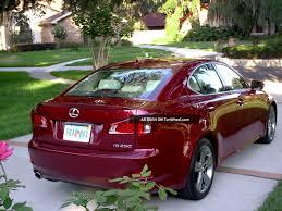2011 Lexus Is250 Base Sedan 4 Door 2 5l