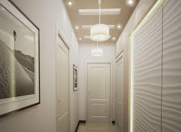 lighting awesome small hallway lighting white flushmount light